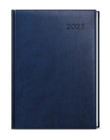 Diář A5 denní David, Vivella, modrá, 2020