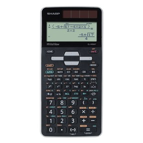 Kalkulačka vědecká Sharp EL-W506T-GY, černo-šedá, vědecká, bodový displej