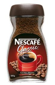 Káva NESCAFÉ Classic 100 gr. BEZ KOFEINU