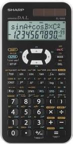 Kalkulačka vědecká Sharp EL-506XBWH, neprogramovatelná, bílá