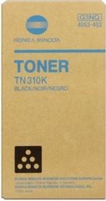 Toner Konica Minolta pro C350, černý TN-310K (11.500 str.) orig.