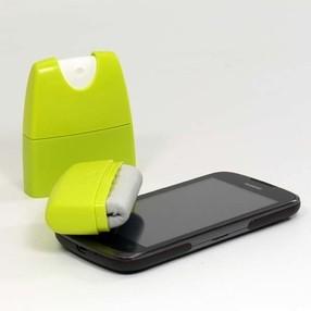 Čisticí sada 2v1 na tablet, smartphone (rozprašovač + mikroutěrka)