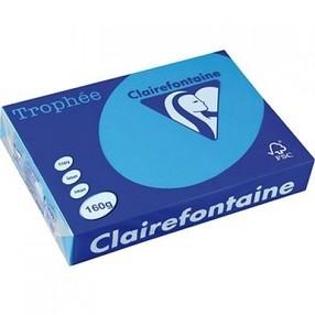 "Papír xerogr.bar. modrý ""Kometa"" intensive Clairefontaine A4 160g 250 listů"
