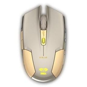 Myš optická Cobra S, lion, 4tl., 1 kolečko, bezdrátová, zlatá, 1800dpi - DOPRODEJ 1 KS