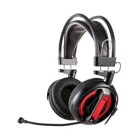 Sluchátka s mikrofonem E-Blue, Cobra I, černé - DOPRODEJ 1 KS.