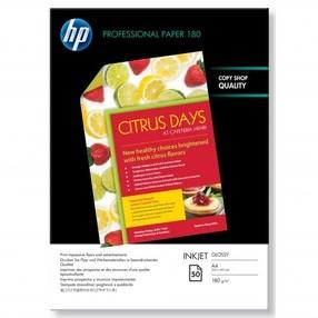 Fotopapír HP Superior Inkjet Paper, oboustraný 180g/m2 A4, bal.50ks  C6818A
