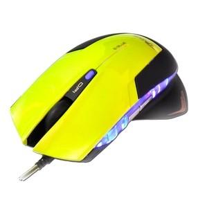 Myš optická herní E-Blue Mazer R zelená, USB