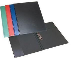 Složka A4 s rychlosvorkou, PVC, černá
