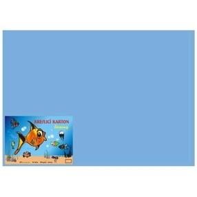 Kreslící karton A4, 50 listů - modrý