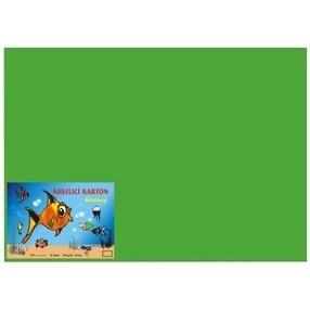 Kreslící karton A4, 50 listů - tmavě zelený