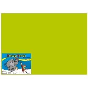 Kreslící karton A4, 50 listů - zelený