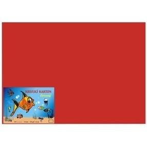 Kreslící karton A4, 50 listů - červený