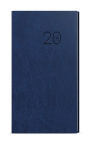 Diář kapesní týdenní Jakub, vivella, modrá, 2020