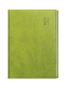 Diář A5 denní David, Vivella, zelená, 2021