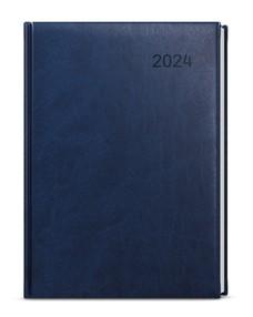 Diář A5 denní Ctirad, Vivella, modrá, 2021