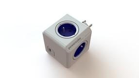 Zásuvkový systém PowerCube Original s USB (modrý)