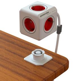 Zásuvkový systém PowerCube Extended 1,5m (červený)
