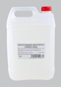 Mýdlo tekuté dekontaminační s dezinfekční přísadou 5 litrů - M6