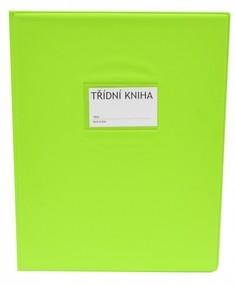 Desky na třídní knihu A4 - světle zelené