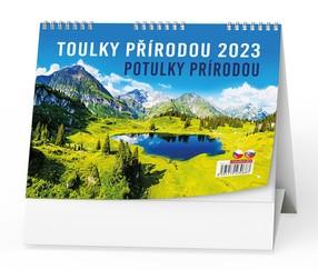 Kalendář stolní Toulky přírodou, 2022