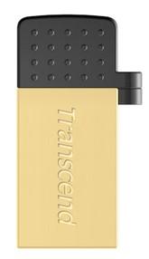 USB MICRO flash disk   16 GB, USB 2.0 Transcend JetFlash 380 ZLATÝ