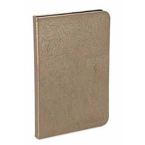 Obal na čtečku, Verbatim, s LED osvětlením, bronzový, Polyester/polyuretan - Doprodej 1 ks