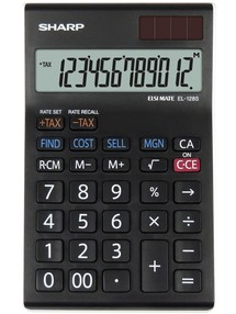 Kalkulačka stolní Sharp EL-128SWH