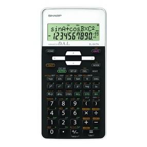 Kalkulačka vědecká Sharp EL-531THWH, neprogramovatelná, bílá