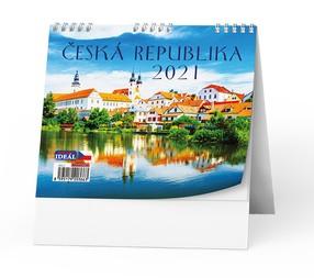 Kalendář stolní Česká republika, 2020
