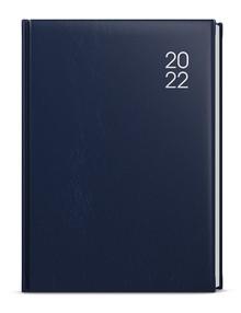 Diář A5 týdenní Oskar, balacron, modrý, 2022