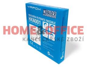 Velký respirátor FFP2 YAFOX HKN001 (5ks)