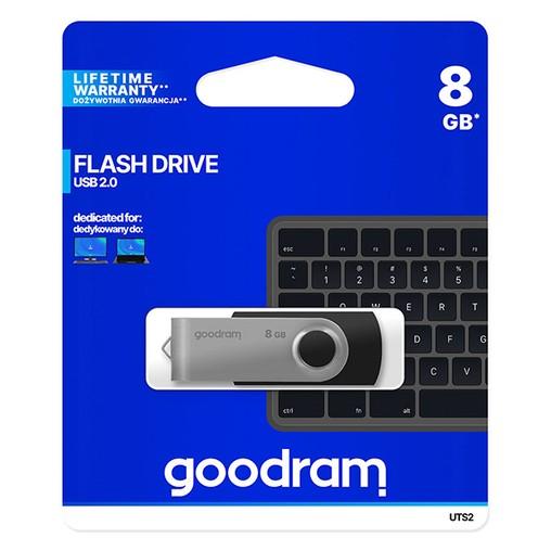USB flash disk   8 GB,USB 2.0 Goodram Twister černý