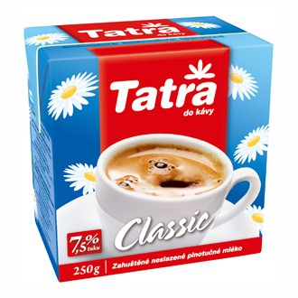 Mléko Tatra 7,5% tuku 250 ml. (12ks)